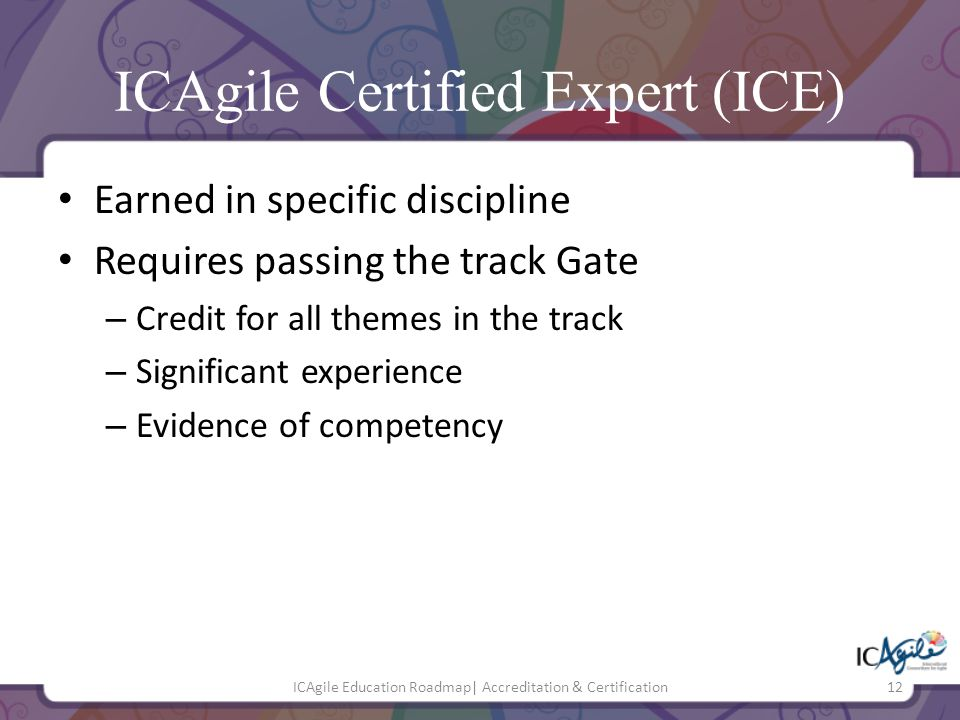 ICAgile Certified Expert (ICE)