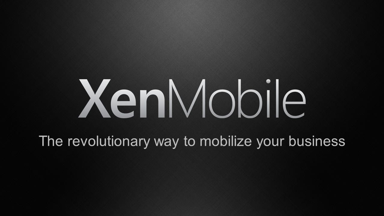 The revolutionary way to mobilize your business