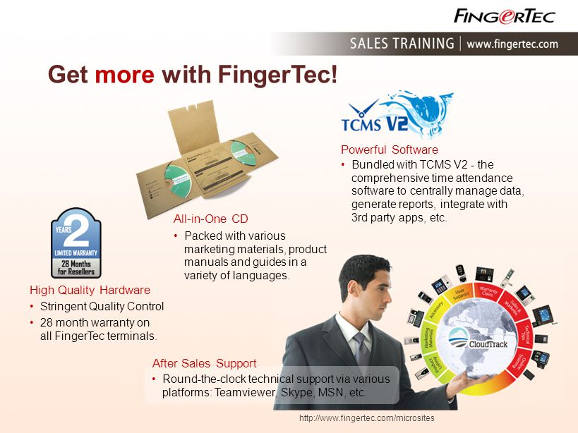 Get more with FingerTec!
