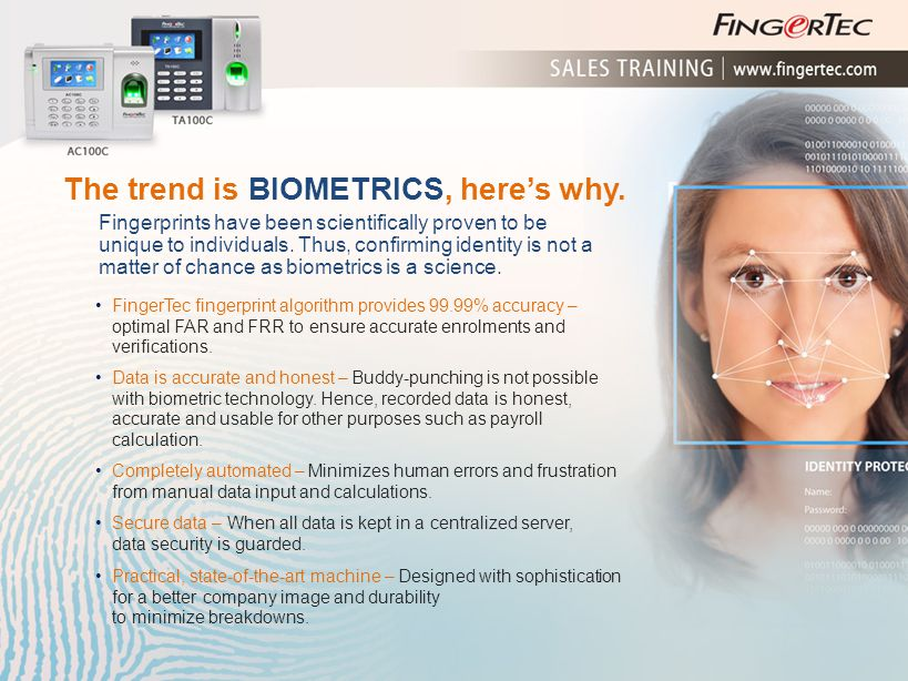 The trend is BIOMETRICS, here's why.