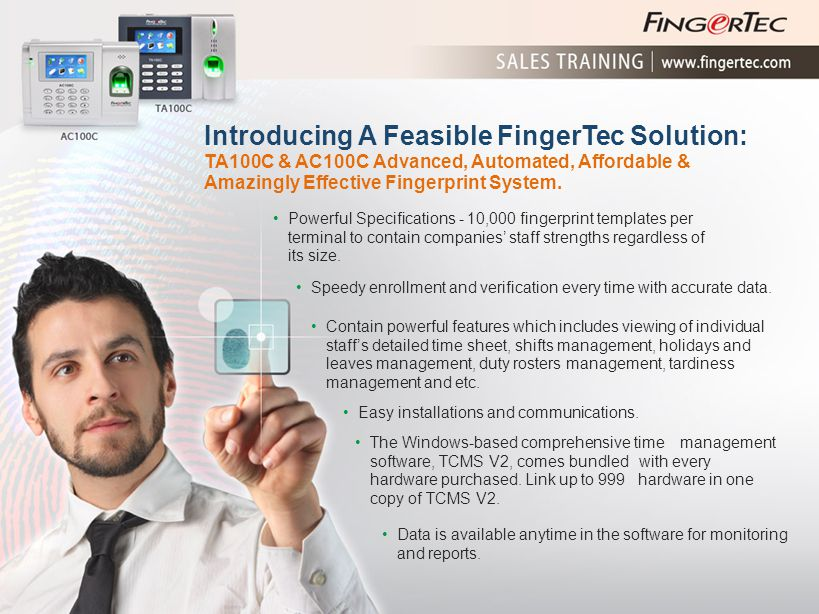 Introducing A Feasible FingerTec Solution: