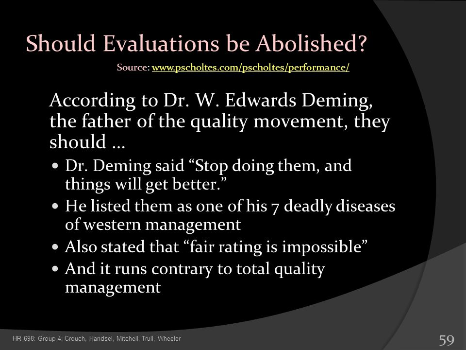 Should Evaluations be Abolished