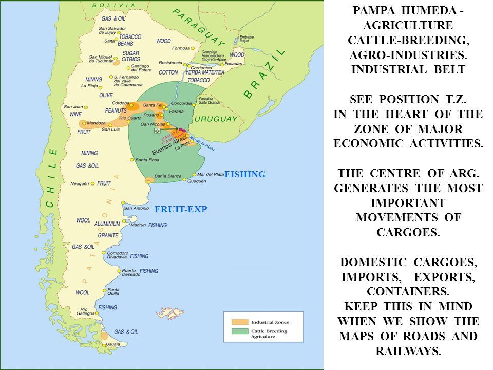 PAMPA HUMEDA - AGRICULTURE CATTLE-BREEDING, AGRO-INDUSTRIES.