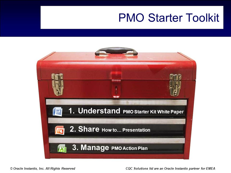 PMO Starter Toolkit Understand PMO Starter Kit White Paper