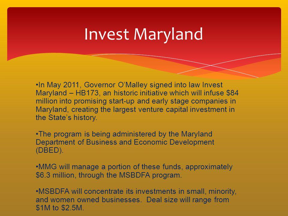 Invest Maryland