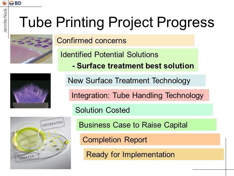 Tube Printing Project Progress