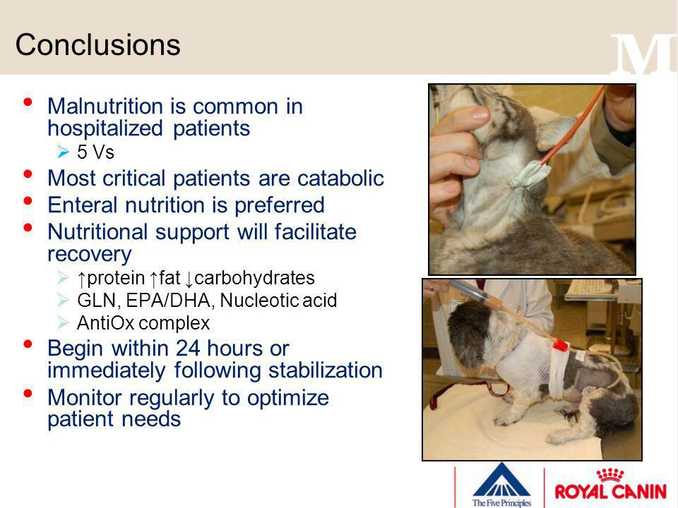 Conclusions Malnutrition is common in hospitalized patients