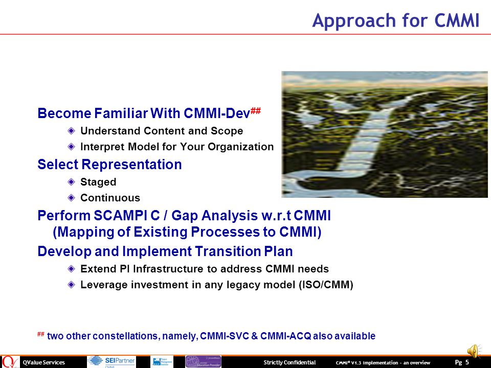 Approach for CMMI Become Familiar With CMMI-Dev##