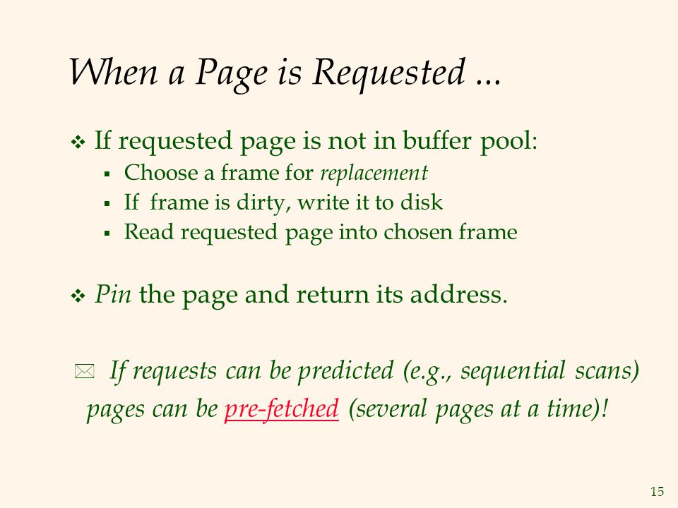 When a Page is Requested ...