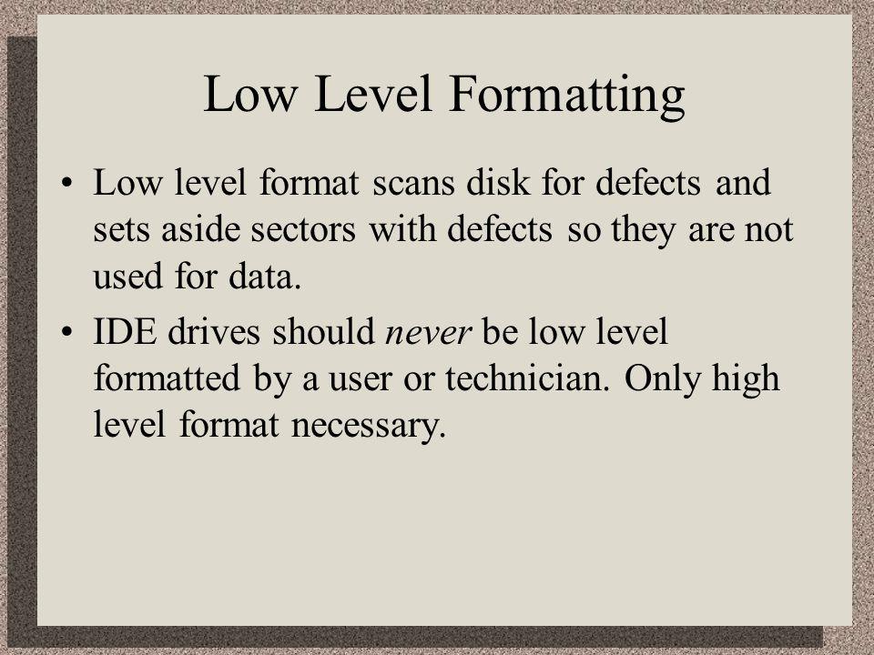 high level format