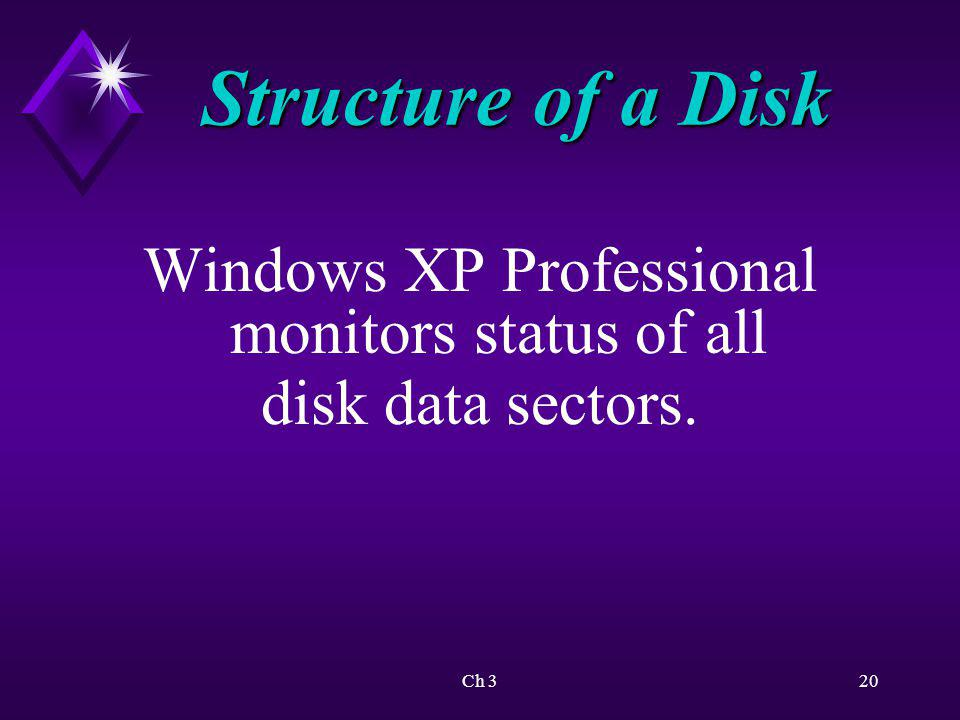 Windows XP Professional monitors status of all