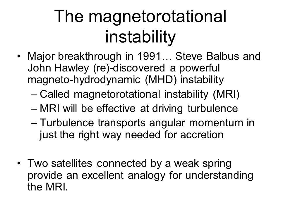 The magnetorotational instability