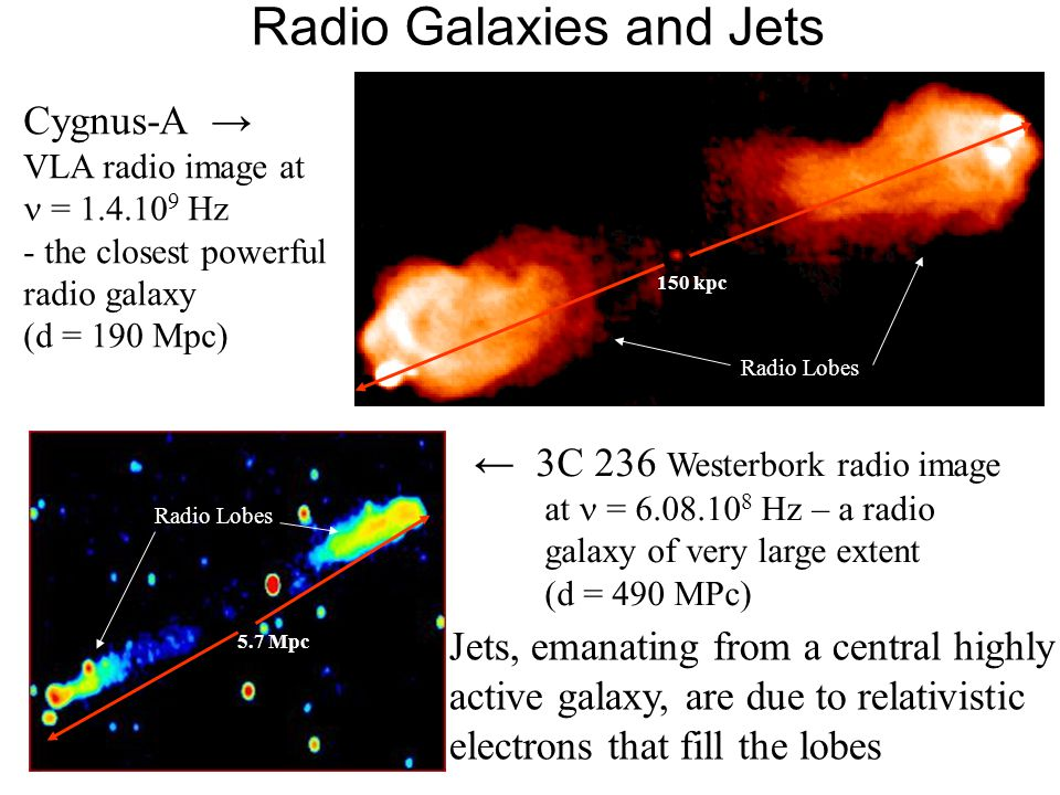 Radio Galaxies and Jets