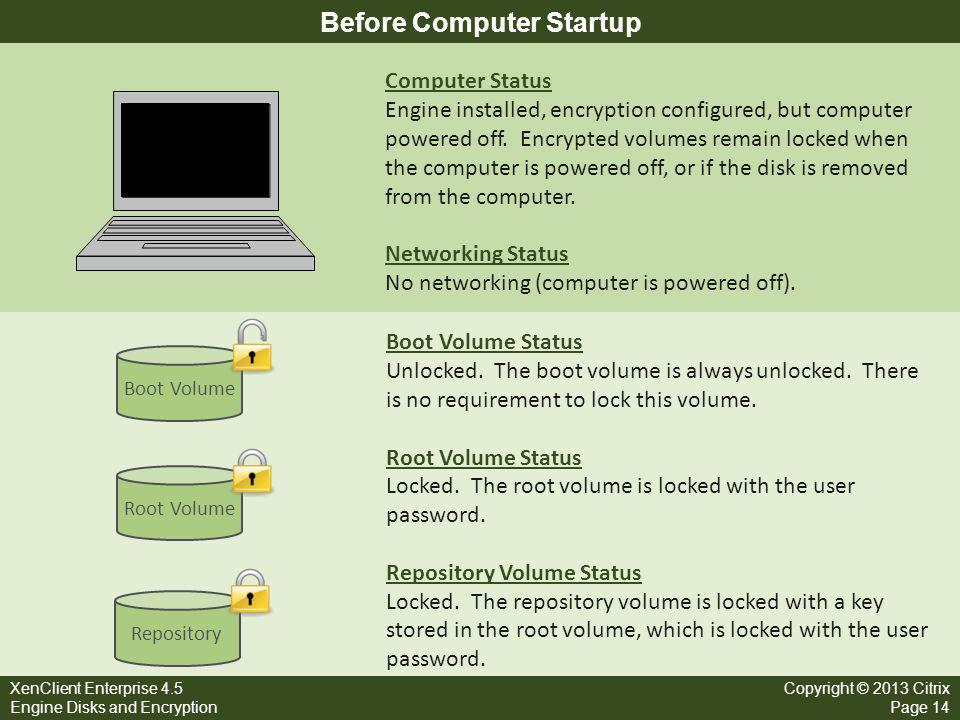 Before Computer Startup