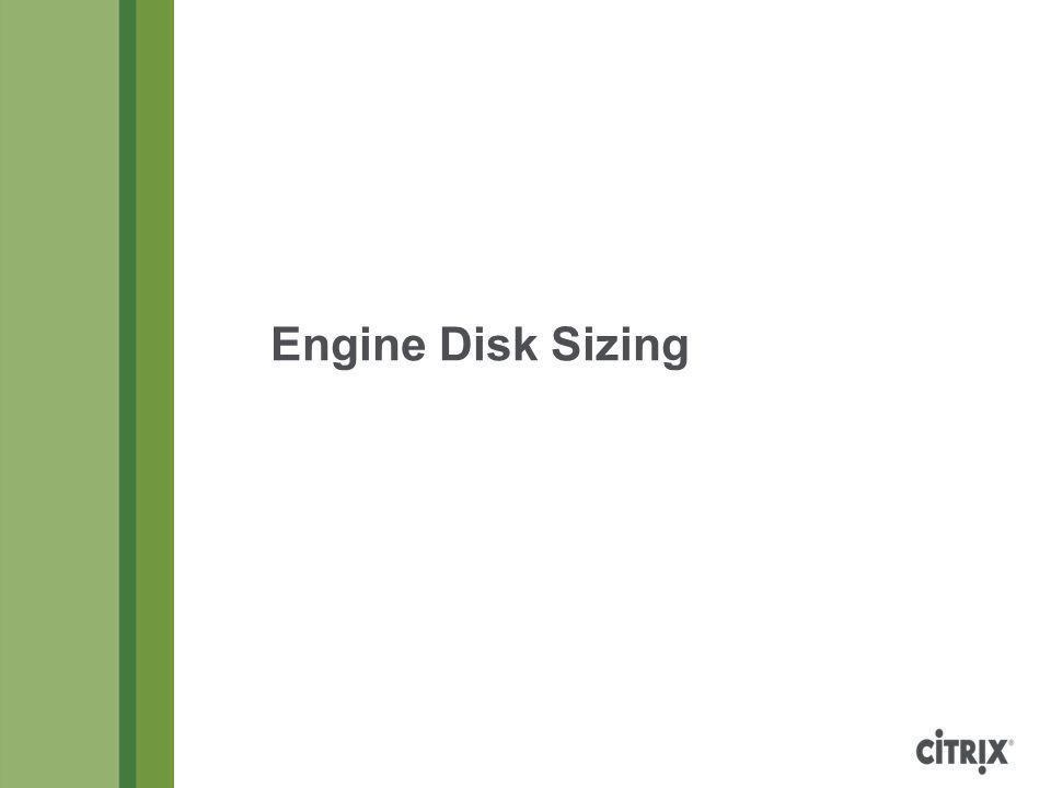 Engine Disk Sizing