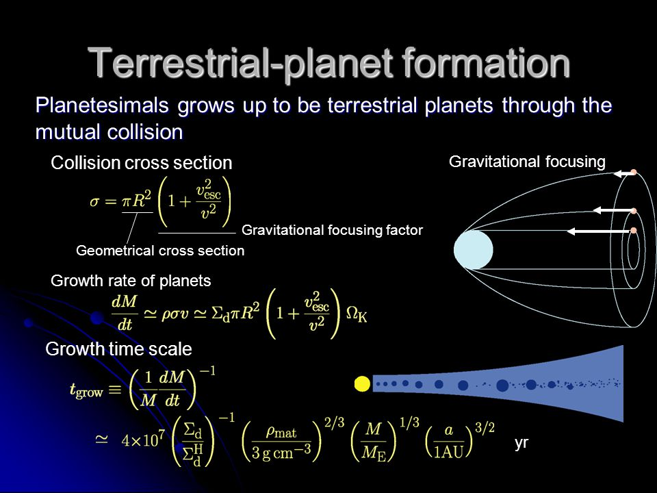 formation of terrestrial planets - photo #1