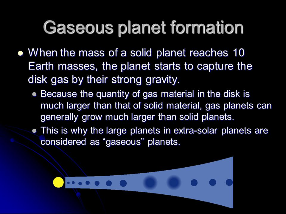 Gaseous planet formation