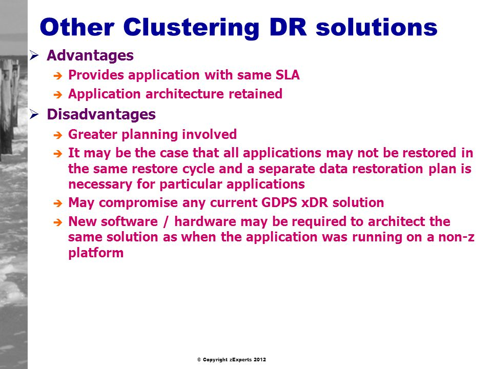 Other Clustering DR solutions