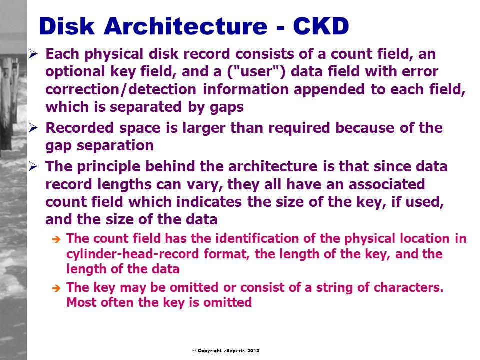 Disk Architecture - CKD