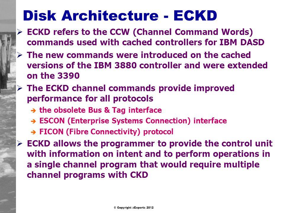 Disk Architecture - ECKD