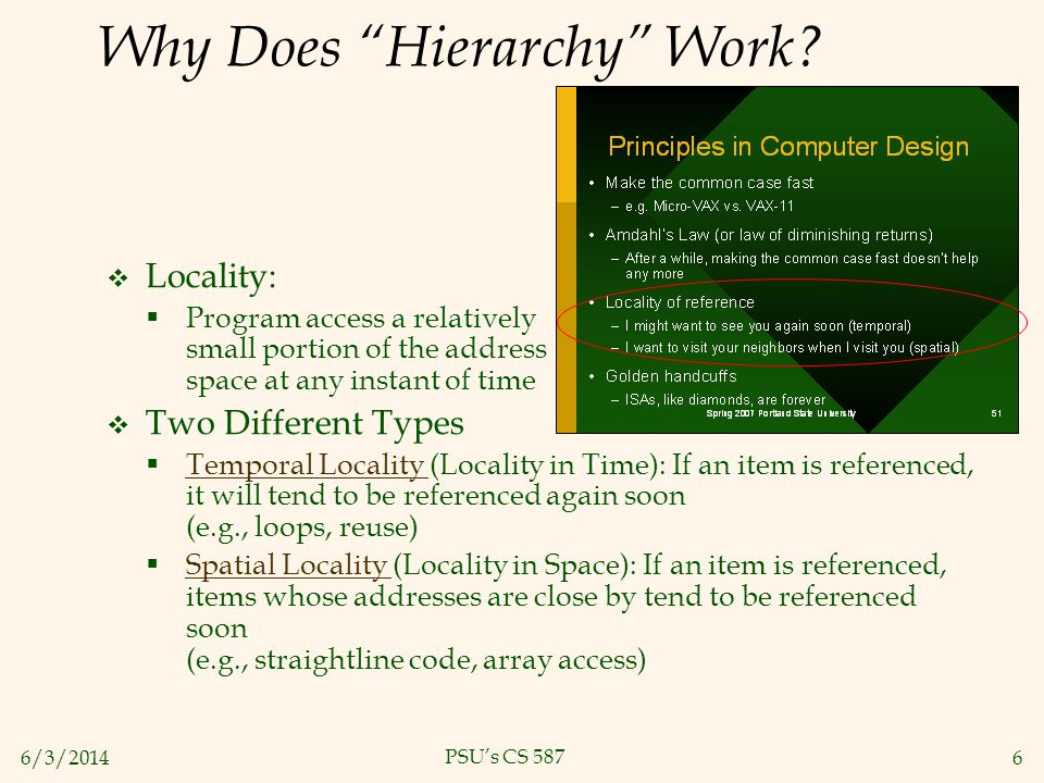 Why Does Hierarchy Work