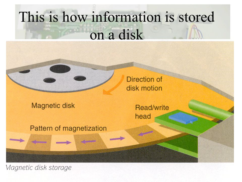 This is how information is stored