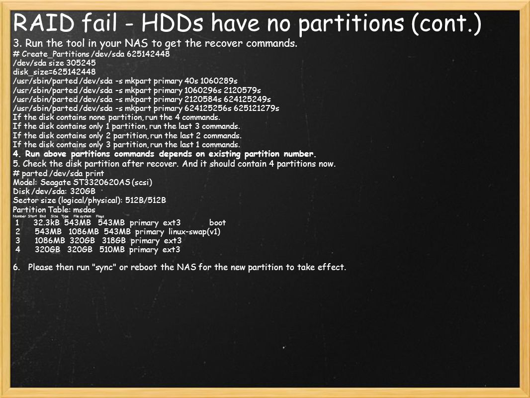 RAID fail - HDDs have no partitions (cont.)