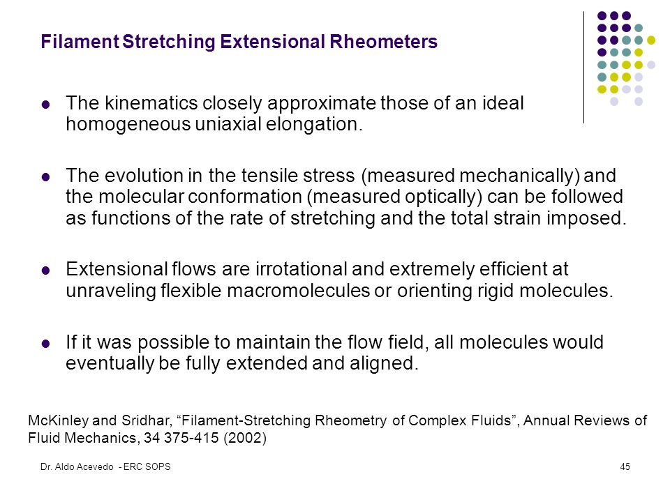 Filament Stretching Extensional Rheometers