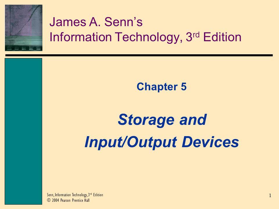 James A. Senn's Information Technology, 3rd Edition