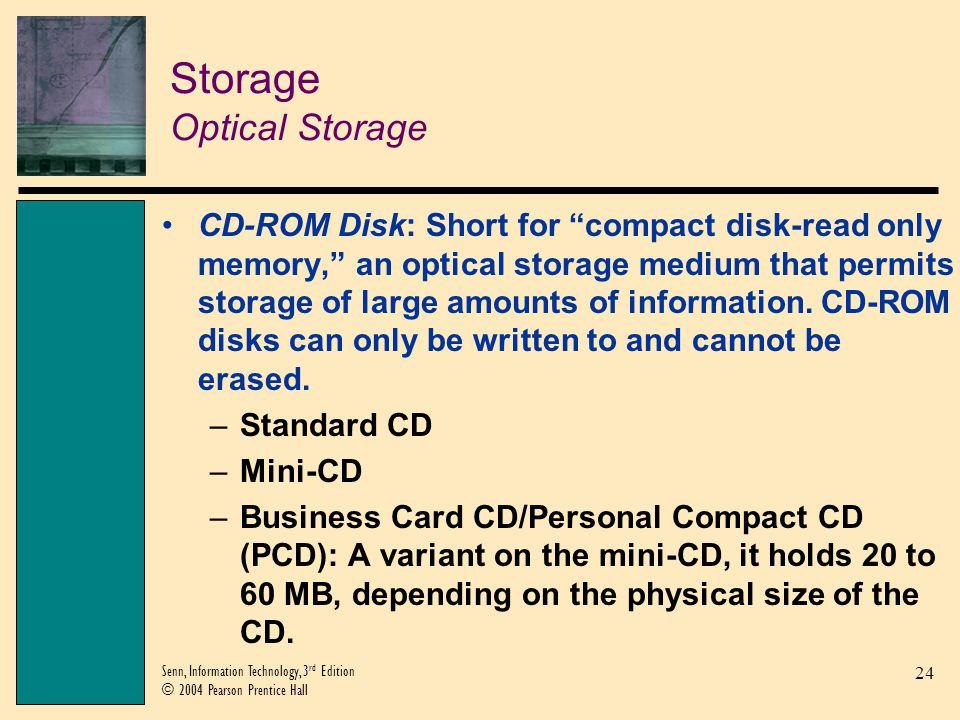 Storage Optical Storage