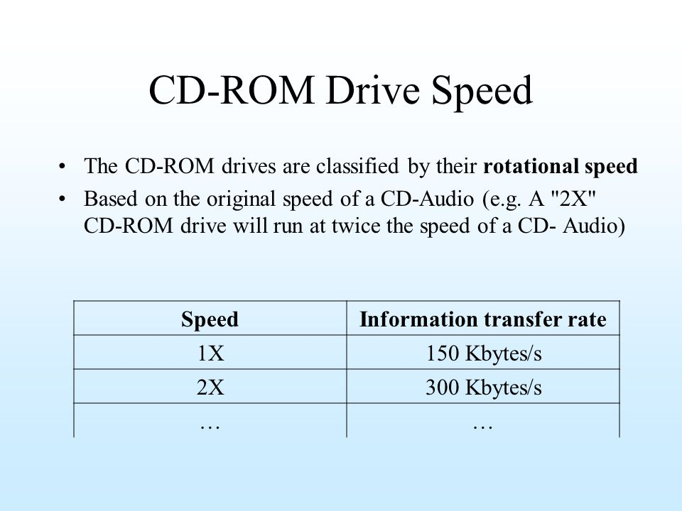 Information transfer rate