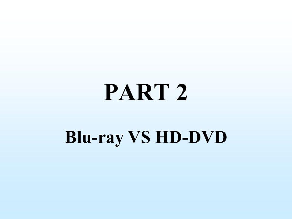 PART 2 Blu-ray VS HD-DVD