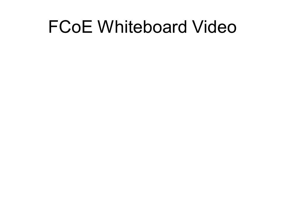 FCoE Whiteboard Video