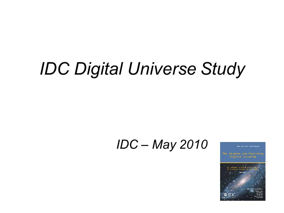 IDC Digital Universe Study