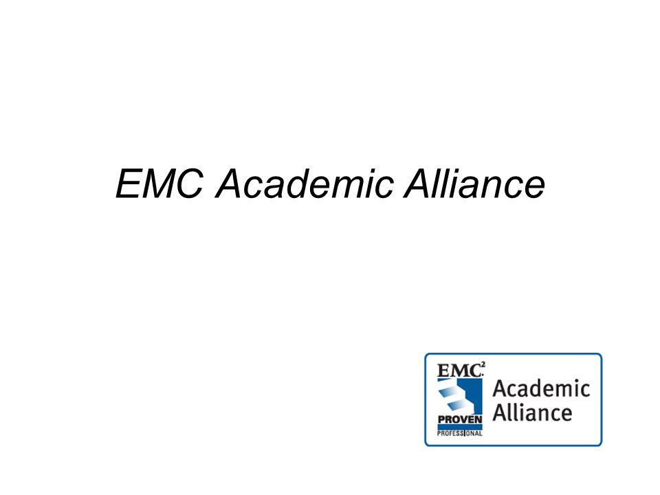 EMC Academic Alliance