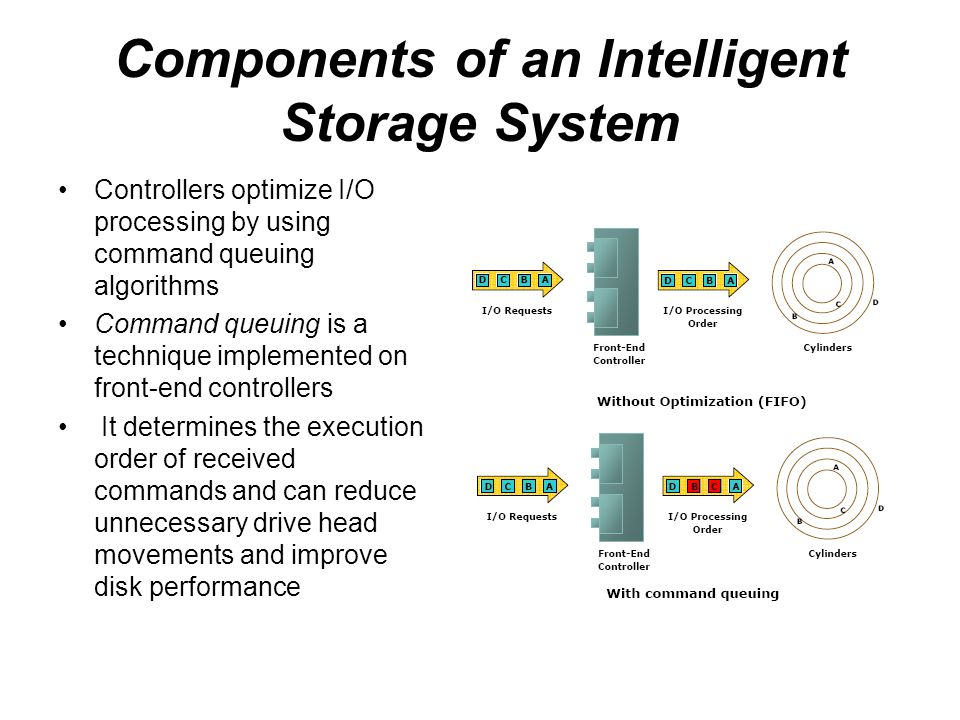 Components of an Intelligent Storage System