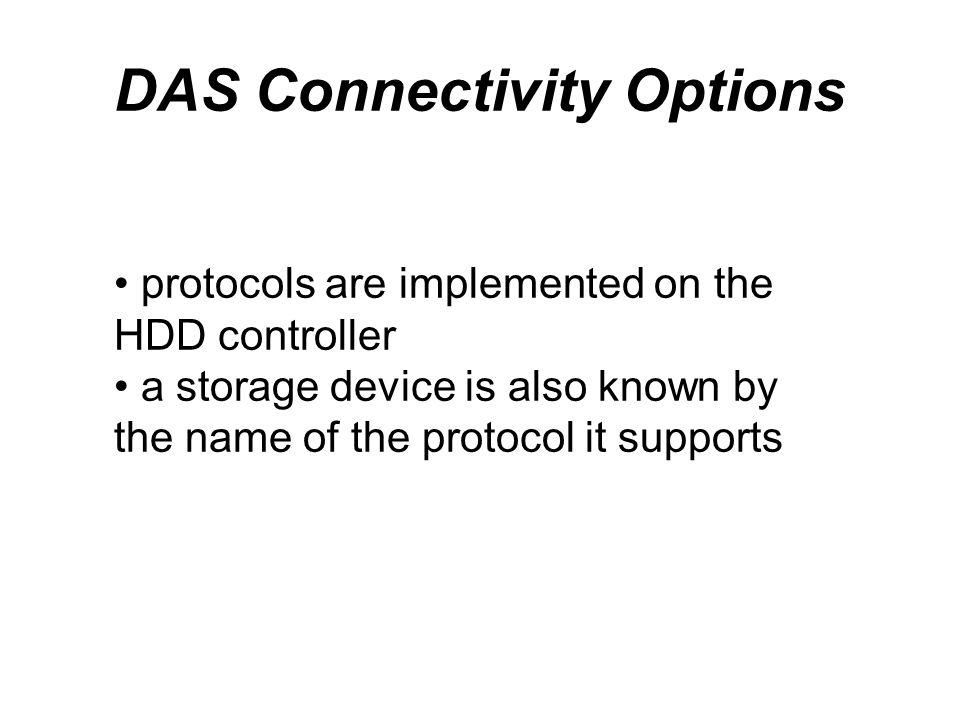 DAS Connectivity Options