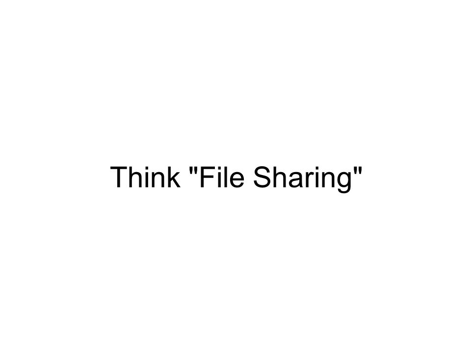 Think File Sharing