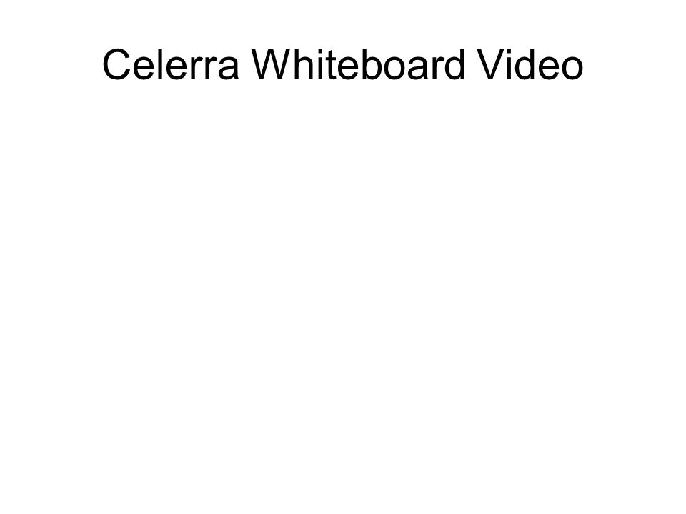 Celerra Whiteboard Video