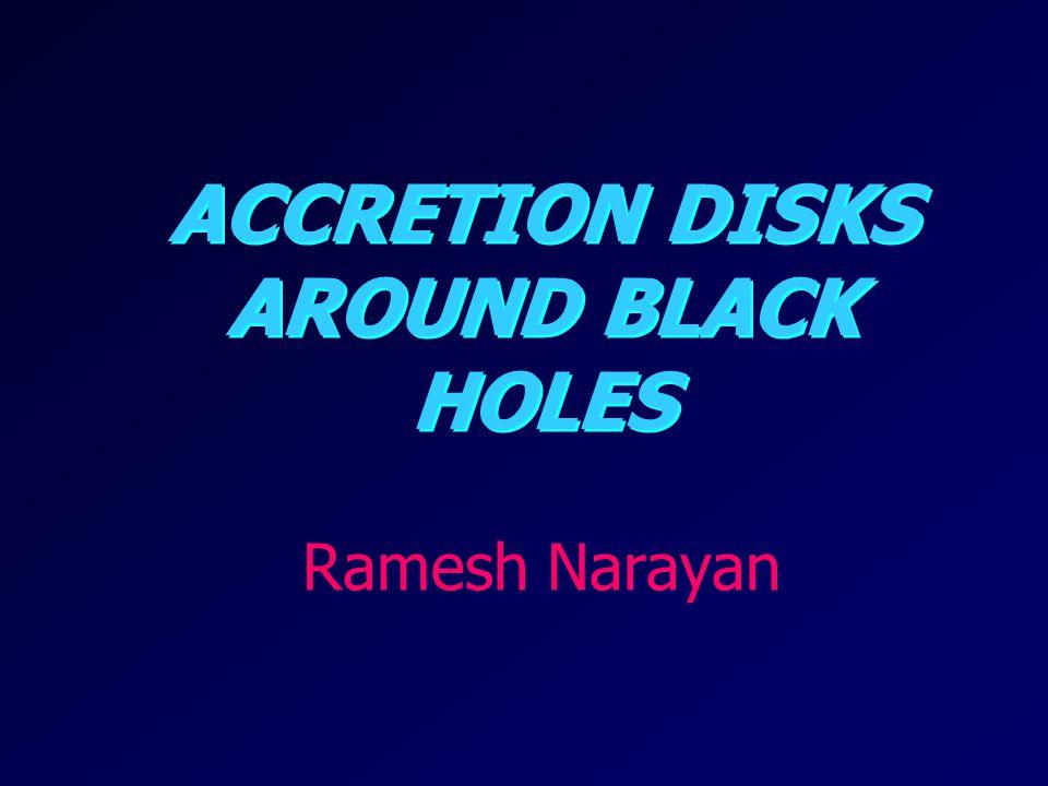 Accretion Disks Around Black Holes
