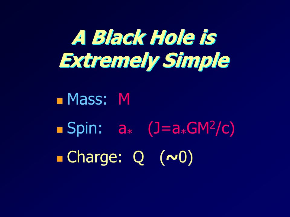 A Black Hole is Extremely Simple