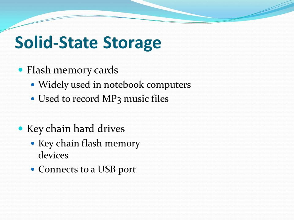 Solid-State Storage Flash memory cards Key chain hard drives