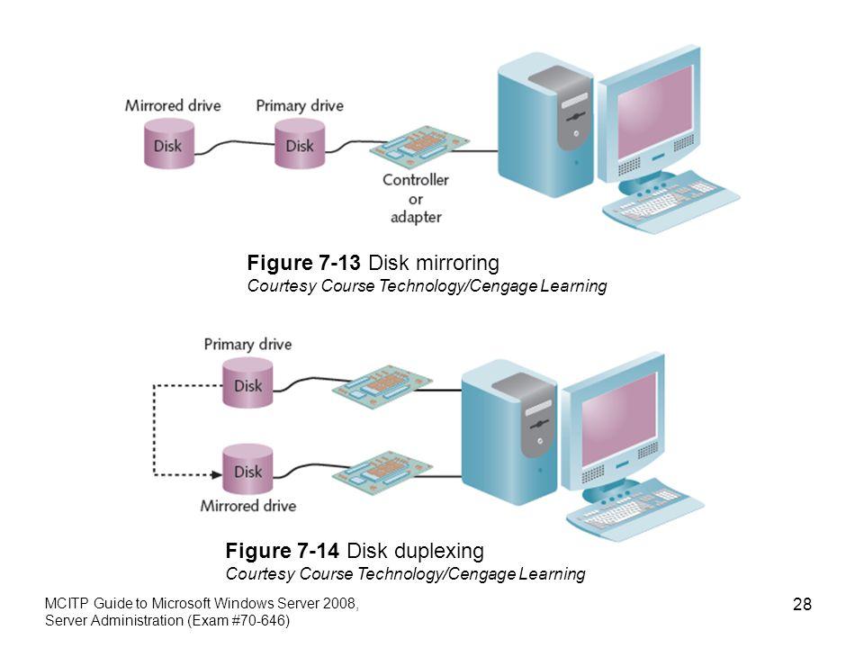 Figure 7-13 Disk mirroring