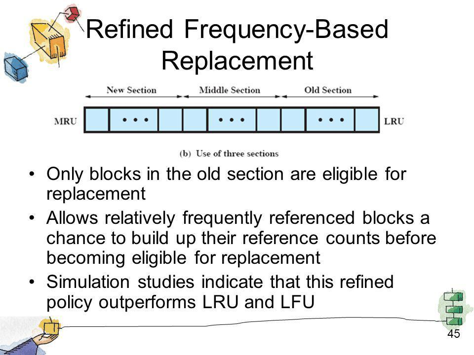 Refined Frequency-Based Replacement