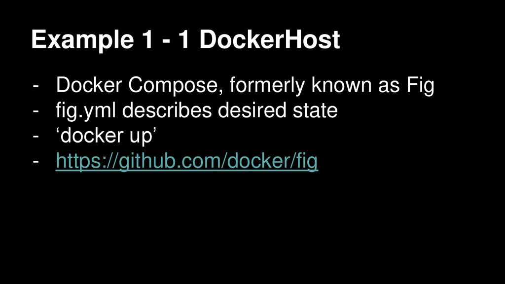 Docker Orchestration: Step-by-step - ppt download