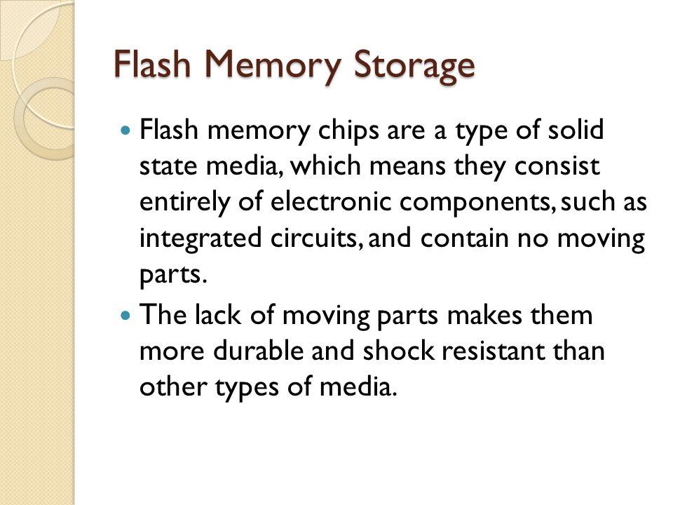 Flash Memory Storage