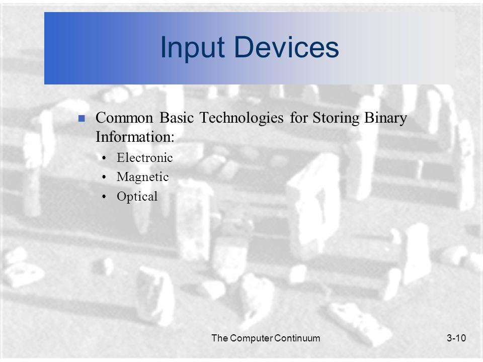 The Computer Continuum