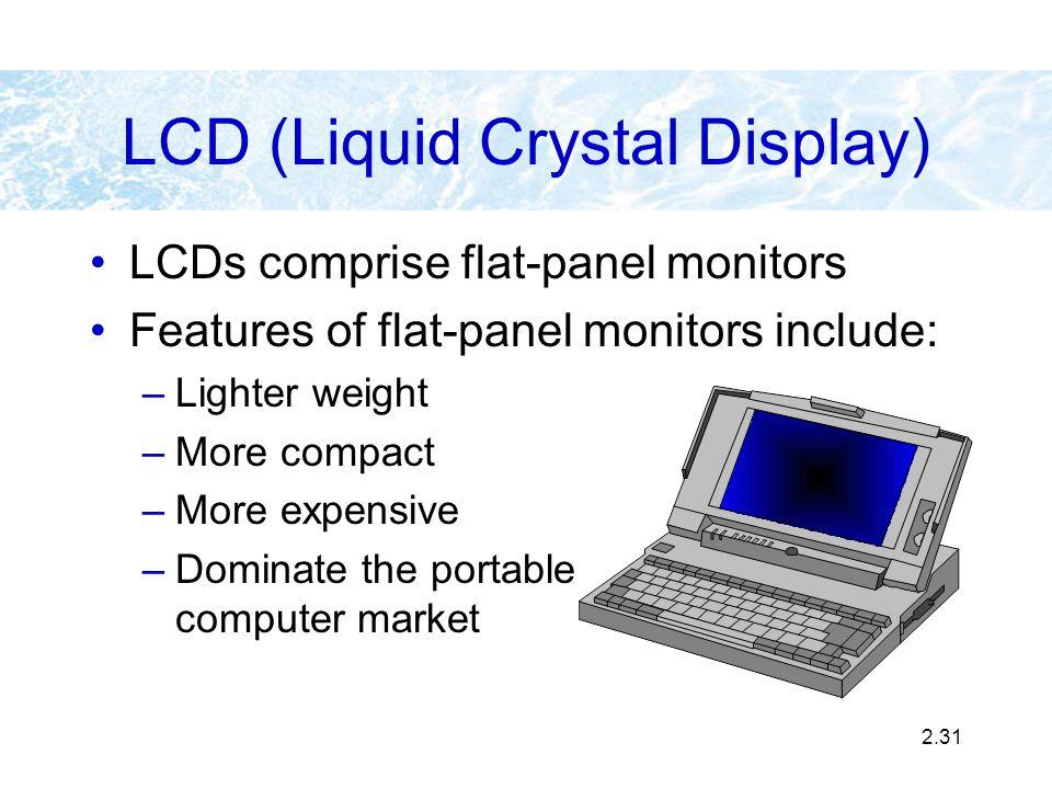 LCD (Liquid Crystal Display)
