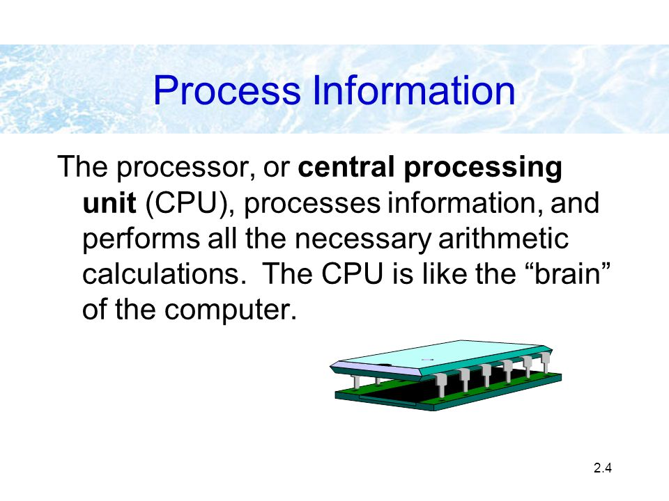 Process Information