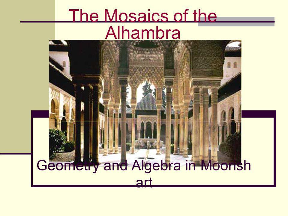 Geometry and Algebra in Moorish art